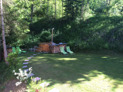 Le jardin: