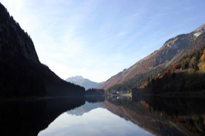 Lac de Montriond: Lac de Montriond 15 minutes de route de l'Ecuela