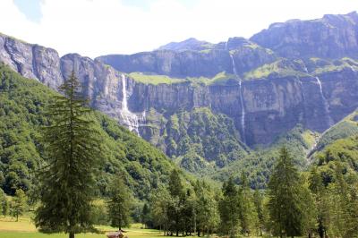 Sixt Fer à Cheval: Vues à couper le souffle et une multitude de cascades à Sixt Fer A Cheval, à 1h de l'Ecuela