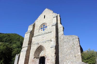 The Abbaye: Abbaye de Saint Jean d'Aulps, 5 minutes drive from l'Ecuela