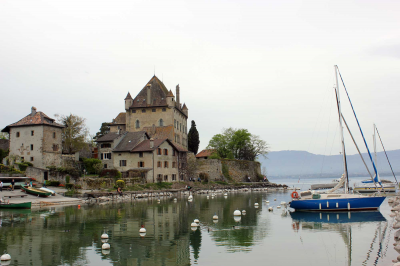 Yvoire: Officially one of the most beautiful villages in France, 40 minutes drive from l'Ecuela